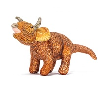 Favorite Golden Stuffed Triceratops giant plush baby toy dinosaur