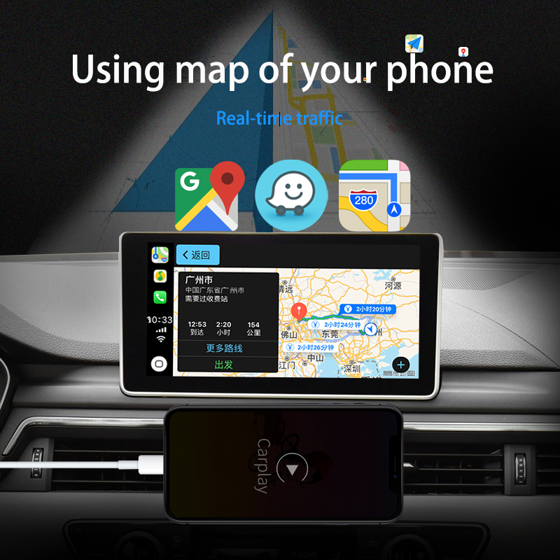 Inalámbrico De Apple Carplay Módulo Multimedia Video