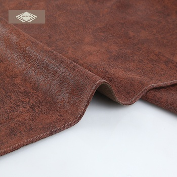Embossed Suede Fabric For Sofa Faux