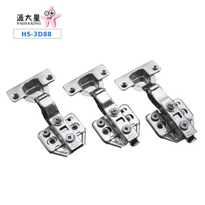 Furniture soft close Clip on adjustable hinges for cabinets