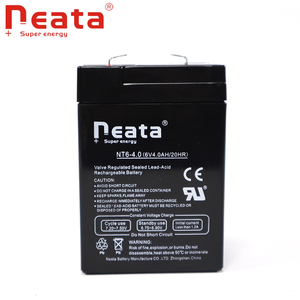 NEATA 6v 4ah rechargeable lead acid UPS battery, lead acid toy electric car battery