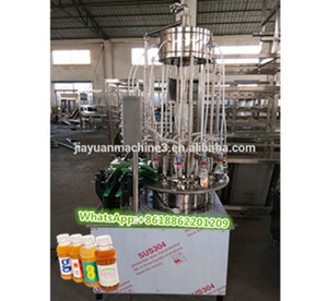 Best Selling General Industrial Machinery Equipment Fruit Juice Production Line Semi Automatic Filling Machine Price