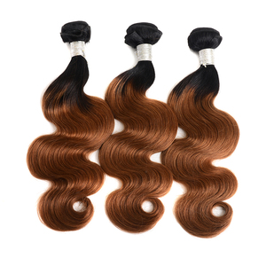 May Queen 1b/30 ombre brazilian body wave hair weave wholesale virgin hair vendors royal hair cuticle aligned from india remy