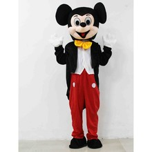 Fancy Dress Mickey Tikus <span class=keywords><strong>Kostum</strong></span> Maskot Dewasa Mickey Tikus Maskot <span class=keywords><strong>Kostum</strong></span> untuk Pesta