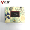 Handmade Craft Favor Flower Carton Color Cardboard Vanity Packing Box Makeup Box With Special Paper