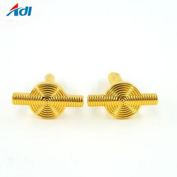New high quality custom fashion metal letter cufflink for mens
