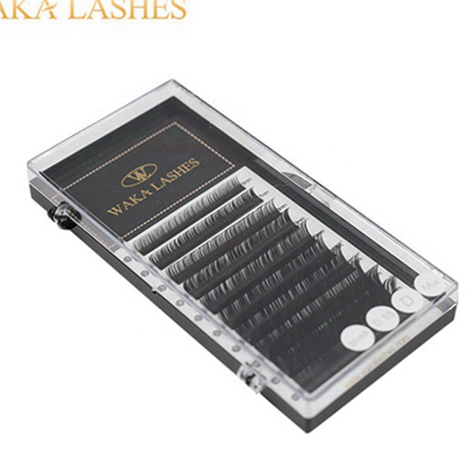 Fan Easy Volume Eyelash Wholesale 3D Eyelash Extension Private Label Faux Mink Lashes Private mink lashes private label with pac фото