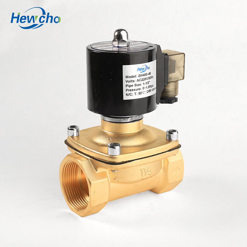 ZCM-40 Brass LPG Natural Gas Solenoid Valve