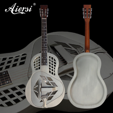 Aiersi marke Vintage Verchromt Triolian Tricone Glocke <span class=keywords><strong>Messing</strong></span> Resonator Gitarre