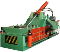 Factory Price Scrap Metal Shavings Baling Scrap Press Compactor Baler/metal waste paper baling