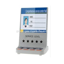 Banking 4 Buttons Electronic Customer Service happy or not Feedback Evaluation Terminal/Customer Satisfaction Rating Device