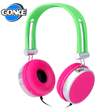 Support custom logo handsfree earphone stereo head set 40mm speaker wired headphone
