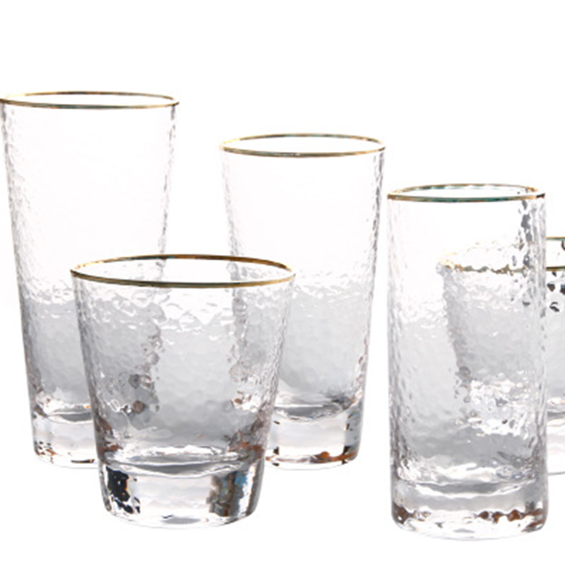 Wholesale Lead-Free Clear Custom Logo Drinking Water <strong>Glass</strong> for Household
