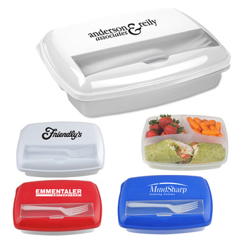 BPA free best design smart compact camping event take away portable bento style square beautiful plastic lunch-box with cutlery