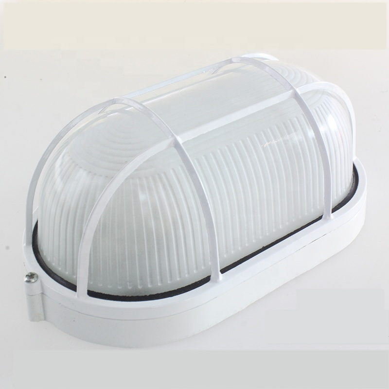Waterproof Outdoor Aluminum IP44 Damp-proof LED E27 Bulkhead Light Wall Lamp For Bathroom