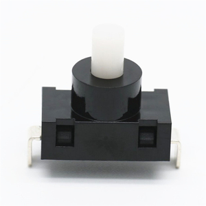mini push button foot switch plastic 2 pin low voltage t85 flashlight hoist push button switch