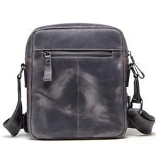 Fabriek Rechtstreekse levering 100% Echt Leer Rits Pocket <span class=keywords><strong>Messenger</strong></span> Schoudertas Sling Bag Mannen Cross Body Bag