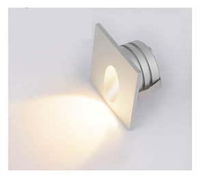 New products mini round square led step wall light led lamps 3w