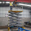semi-trailer axle air suspension vehicle mounted boom hydraulic lift for container