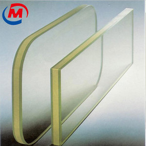 2MM Pb X ray protective lead glass