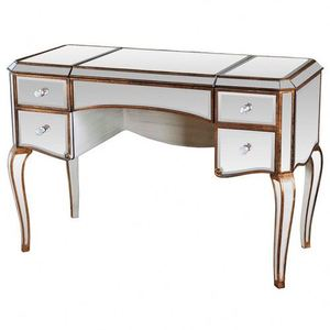 Factory Supplying French Acrylic Lucite Vanity Table