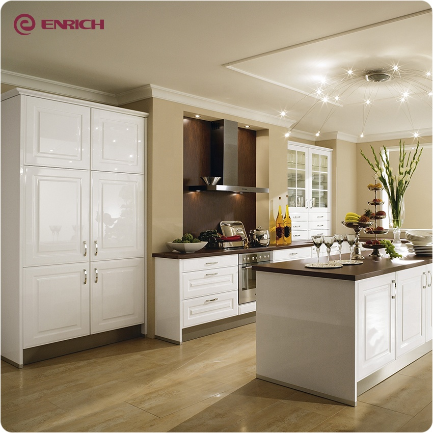 China Factory Classical White Shaker Door Style Design American Standard  Kitchen Cabinet - Buy White Shaker Cabinet,Shaker Kitchen,White Shaker Wood  ...