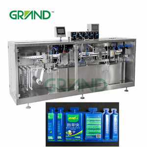 liquid herbicides and pesticides plastic ampoule forming filling and sealing machine