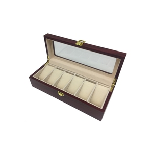 Salable luxe packing watch gift set wooden box