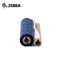 110mm*70m compatible zebra gk888t printer ribbon 0.5 inch For printing paper labels wax /resin ribbon