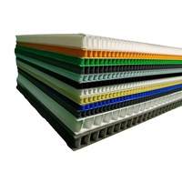 Hot sale twin wall polypropylene board/plate with ISO,SGS certificate