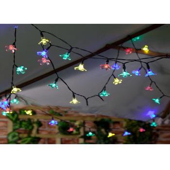 40+ koleski terbaik konsep foto dengan lampu natal