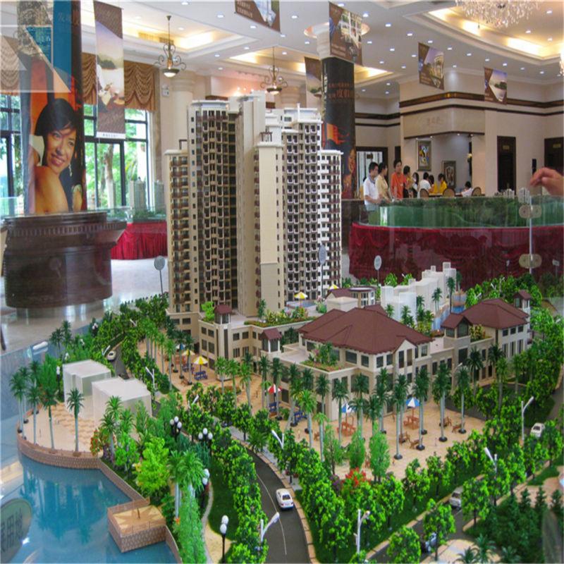 Manufacturer 3D scale model making diorama ancient building miniature 3d modelling