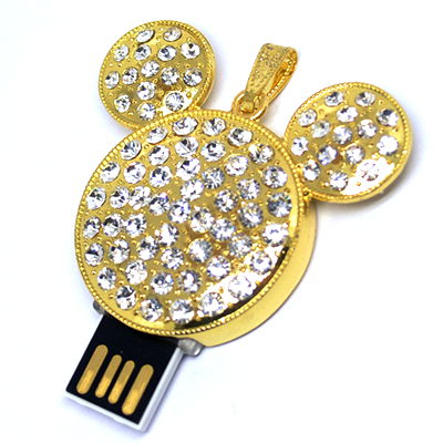 Schmuck Mickey Maus USB 2.0 3,0 Flash Drive Memory Stick USB-Stick