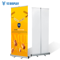 80*200 aluminum budget roll up banner, roll up stand, roll ups