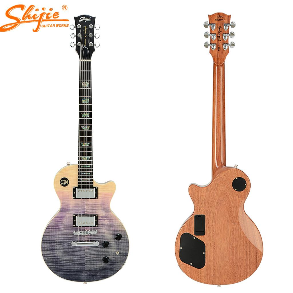 Paylater China Shijie Brand Guitars Seymour Duncan Pickups Lpm-std Electric  Guitar - Buy Seymour Duncan Pickups Guitar,Guitar Electric Oem,Electric