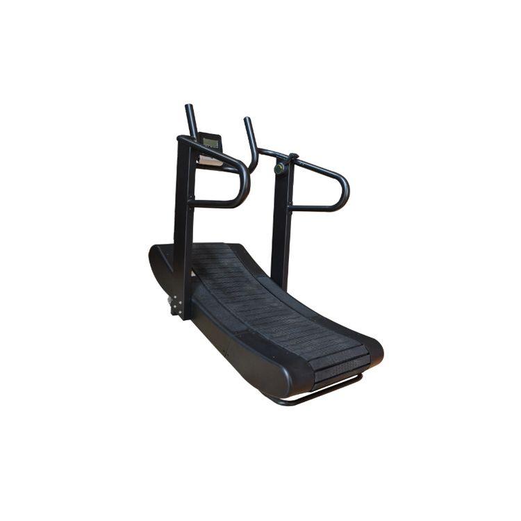 Door to Door Service Non Motorized Self Generating Curve Treadmill, Customized
