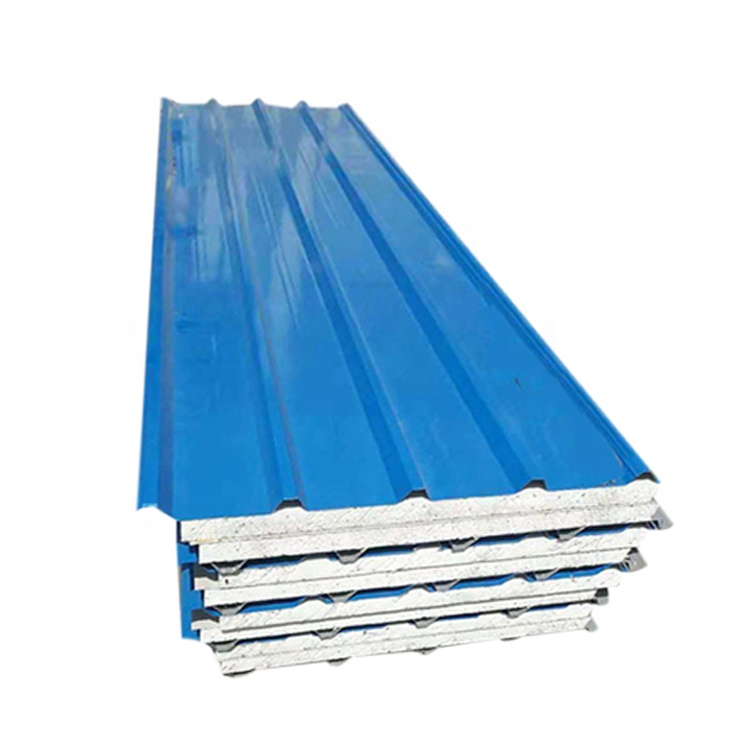 High quality insulated eps corrugated roof <strong>panel</strong>