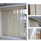 Roller Sliding Vertical Blinds Vertical Blinds Designs Natural Environmentally Friendly Design Woven Jute Material Room Divider Sliding Glide Panel Track Vertical Home Center Blinds