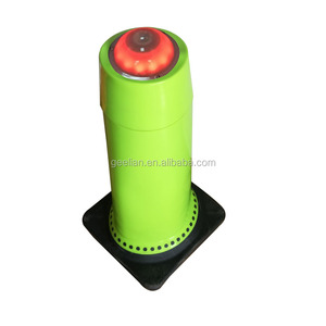 Euprope Standard Manufacturer Lime Orange Green or Blue Color reflective PVC Plastic Safety Traffic Cone