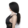 PREMIER Factory Free Shipping Fast Top Quality Free Part 100% Human Hair Full Lace Wigs Kinky Straight Wig