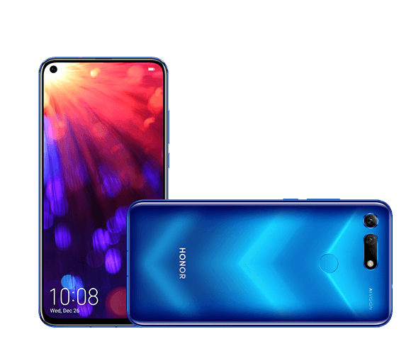 Original HUAWEI Honor View 20 Smartphone Honor <strong>V20</strong> Android 9 8GB RAM 128GB ROM Support NFC Fast Charge Mobile <strong>Phone</strong>