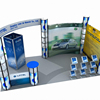 3x3 6x6 aluminium tradeshow exhibition booth