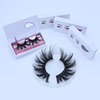 Custom packaging Eyelash manufacturer wholesale 3D mink fur eyelashes