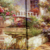 European and American courtyard garden picture painting fine  art printing on canvas art wall decor