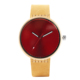 Women's Watch Concise Modern Quartz Wrist Watch Gift for Girls with a Pin Buckle Leather Straps Watch Band for Women