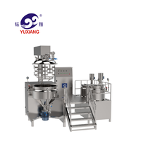Yuxiang high shear pressure vacuum mixer cream homogenizer price homogenizing emulsifying machine cosmetic machinery