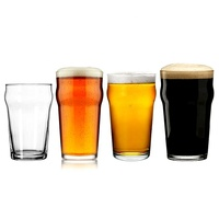 Factory Price High Quality Clear Stange Pilsner Half Pint Glass