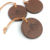 clothes hang tag  custom embossed leather label tag for cloth