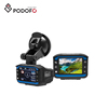Podofo Car DVR Radar Detector GPS Tracker 3 in 1Car Camera Video Recorder Russian Radar Speed Cam Anti Radar Dash Cam