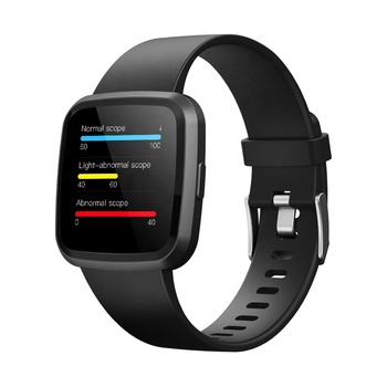 FITUP V12C OEM ODM wholesale full screen touch smart watch best calorie tracker device blood pressure smart watch 2019